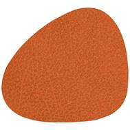 LINDDNA 981299 HIPPO orange Подстаканник из натуральной кожи фигурный 11х13 см, толщина 1,6мм, фото 1