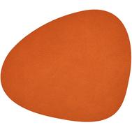 LINDDNA 981305 HIPPO orange Подстановочная салфетка из натуральной кожи фигурная 37х44 см, толщина 1,6мм, фото 1