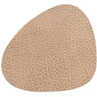 LINDDNA 981312 HIPPO sand Подстаканник из натуральной кожи фигурный 11x13 см, толщина 1,6 мм, фото 1