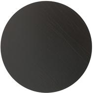 LINDDNA 981709 BUFFALO brown Подстановочная салфетка из натуральной кожи круглая, диаметр 30 см, толщина 2мм, фото 1