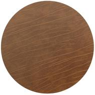 LINDDNA 981724 BUFFALO nature Подстановочная салфетка из натуральной кожи круглая, диаметр 24 см, толщина 2мм, фото 1