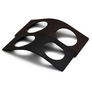 LINDDNA 98238 BULL black/brown Кольцо для салфетки из кожи 6х14см, набор 2шт, фото 1