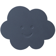LINDDNA 983366 NUPO dark blue Подстаканник из натуральной кожи ОБЛАКО диаметр 12 см, толщина 1,6 мм, фото 1