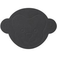 LINDDNA 983394 NUPO anthracite Подстаканник из натуральной кожи ОБЕЗЬЯНКА диаметр 12 см, толщина 1,6 мм, фото 1