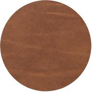 LINDDNA 98883 BUFFALO nature Подстаканник из натуральной кожи круглый, диаметр 10 см, толщина 2мм, фото 1