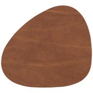 LINDDNA 98886 BUFFALO nature Подстаканник из натуральной кожи фигурный 11x13 см, толщина 2мм, фото 1