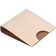LINDDNA 989885 NUPO sand/brown Салфетница кожаная 17х17см, фото 1