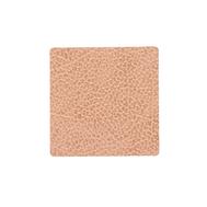 LINDDNA 990209 HIPPO nude Подстаканник из натуральной кожи квадратный 10х10 см, толщина 1,6мм, фото 1