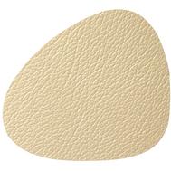 LINDDNA 990156 HIPPO gold Подстаканник из натуральной кожи фигурный 11х13 см, толщина 1,6мм, фото 1