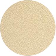LINDDNA 990158 HIPPO gold Подстаканник из натуральной кожи круглый, диаметр 10 см, толщина 1,6 мм, фото 1