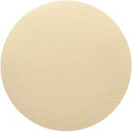 LINDDNA 990159 HIPPO gold Подстановочная салфетка из натуральной кожи круглая, диаметр 24 см, толщина 1,6 мм, фото 1