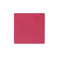 LINDDNA 983516 NUPO raspberry Подстаканник из натуральной кожи квадратный 10x10 см, толщина 1,6 мм, фото 1