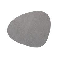 LINDDNA 98869 HIPPO anthracite-grey Подстановочная салфетка из натуральной кожи фигурная 37х44 см, толщина 1,6мм, фото 1