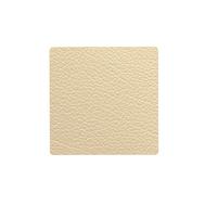 LINDDNA 990157 HIPPO gold Подстаканник из натуральной кожи квадратный 10x10 см, толщина 1,6 мм, фото 1
