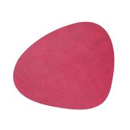LINDDNA 983571 HIPPO raspberry Подстановочная салфетка из натуральной кожи фигурная 37х44 см, толщина 1,6мм, фото 1