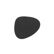 LINDDNA 981797 NUPO black Подстаканник из натуральной кожи фигурный 11x13 см, толщина 1,6 мм, фото 1