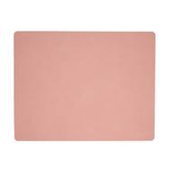 LINDDNA 98323 NUPO rose Подстановочная салфетка из натуральной кожи прямоугольная 35x45 см, толщина 1,6 мм, фото 1