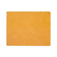 LINDDNA 989984 NUPO burned curry Подстановочная салфетка из натуральной кожи прямоугольная 35x45 см, толщина 1,6 мм, фото 1