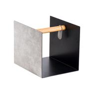 LINDDNA 98962 Hippo white-grey журнальный столик куб 32х38х31см, фото 1