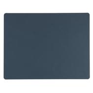 LINDDNA 982482 NUPO dark blue Подстановочная салфетка из натуральной кожи прямоугольная 35x45 см, толщина 1,6 мм, фото 1