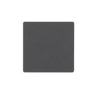 LINDDNA 981185 NUPO anthracite Подстаканник из натуральной кожи квадратный10x10 см, толщина 1,6 мм, фото 1