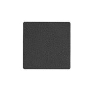 LINDDNA 981287 HIPPO black-anthracite Подстаканник из натуральной кожи квадратный 10x10 см, толщина 1,6 мм, фото 1