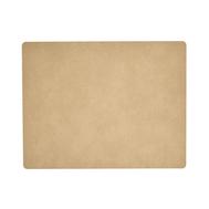 LINDDNA 981322 HIPPO sand Подстановочная салфетка из натуральной кожи прямоугольная 35x45 см, толщина 1,6 мм, фото 1
