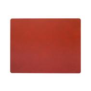 LINDDNA 989996 NUPO sienna Подстановочная салфетка из натуральной кожи прямоугольная 35x45 см, толщина 1,6 мм, фото 1