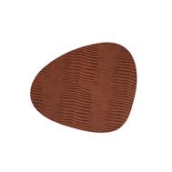 LINDDNA 98285 CROCO cognac Подстановочная салфетка из натуральной кожи фигурная 37x44 см, толщина 2мм, фото 1