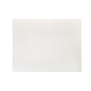 LINDDNA 98403 BULL white Подстановочная салфетка из натуральной кожи прямоугольная 35x45 см, толщина 2мм, фото 1