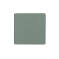 LINDDNA 981803 NUPO pastel green Подстаканник из натуральной кожи квадратный 10x10 см, толщина 1,6 мм, фото 1