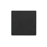 LINDDNA 981801 NUPO black Подстаканник из натуральной кожи квадратный 10x10 см, толщина 1,6 мм, фото 1