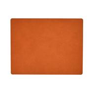 LINDDNA 981309 HIPPO orange Подстановочная салфетка из натуральной кожи прямоугольная 35x45 см, толщина 1,6 мм, фото 1