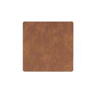 LINDDNA 982497 NUPO nature Подстаканник из натуральной кожи квадратный 10x10 см, толщина 1,6 мм, фото 1