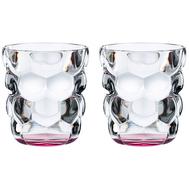 Стаканы Nachtmann Bubbles, 330мл - 2 шт, розовое дно - арт.100699, фото 1