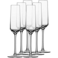 Набор бокалов для шампанского Schott Zwiesel Pure, 209мл - 6шт - арт.112 415-6, фото 1