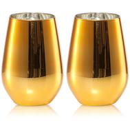 Бокалы золотые Schott Zwiesel Vina Shine, 397мл - 2шт - арт.120 110-2, фото 1