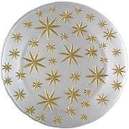 Блюдо Nachtmann Golden Stars - 32см, белое - арт.99661, фото 1