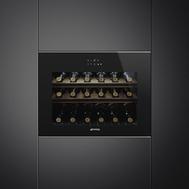 Винный шкаф Smeg, встраиваемый, 60см - арт.CVI618LWNX2, фото 1
