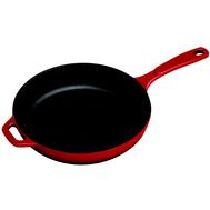 Сковорода чугунная Lodge, 28см, красная - арт.EC11S43, фото 1