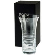 Ваза для цветов Elements Horizon Royal Scot Crystal, 26см - арт.HORFVASE, фото 1