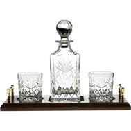 Набор для виски Kintyre Royal Scot Crystal - штоф и 2 стакана - арт.WHTRAYKINOF, фото 1