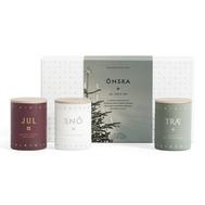 Skandinavisk Набор из 3 ароматических свечей ONSKA mini по 55 г - арт.SK859, фото 1