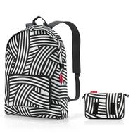 Reisenthel Рюкзак складной Mini maxi zebra - арт.AP1032, фото 1