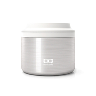 Monbento Контейнер для еды MB Element S серебро - арт.4000 01 000, фото 1