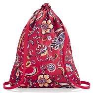 Reisenthel Рюкзак складной Mini maxi sacpack paisley ruby - арт.AU3067, фото 1