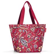 Reisenthel Сумка Shopper M paisley ruby - арт.ZS3067, фото 1