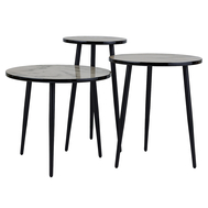 Berg Набор кофейных столиков Vacanti, 3 шт. - арт.AK-TS016, фото 1