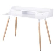 Berg Стол офисный Pallotta, 120х60х92 см, белый - арт.AK-T001, фото 1