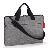 Reisenthel Сумка для ноутбука Netbookbag twist silver - арт.MA7052, фото 1